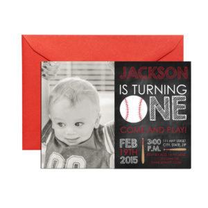 chalkboard baseball invite
