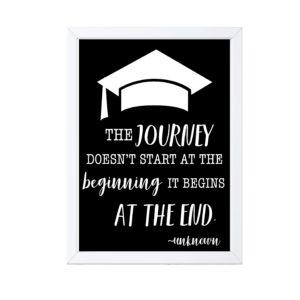 Graduation Quote Sign