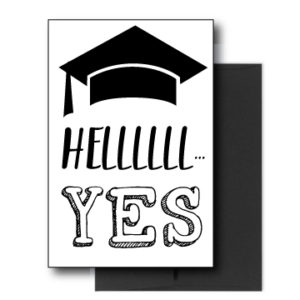 Funny Card for Graduation