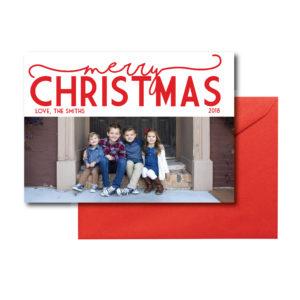 Simple Photo Christmas Card