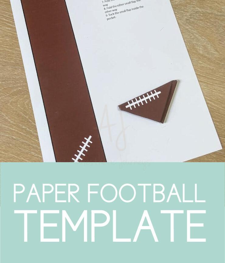 paper football template
